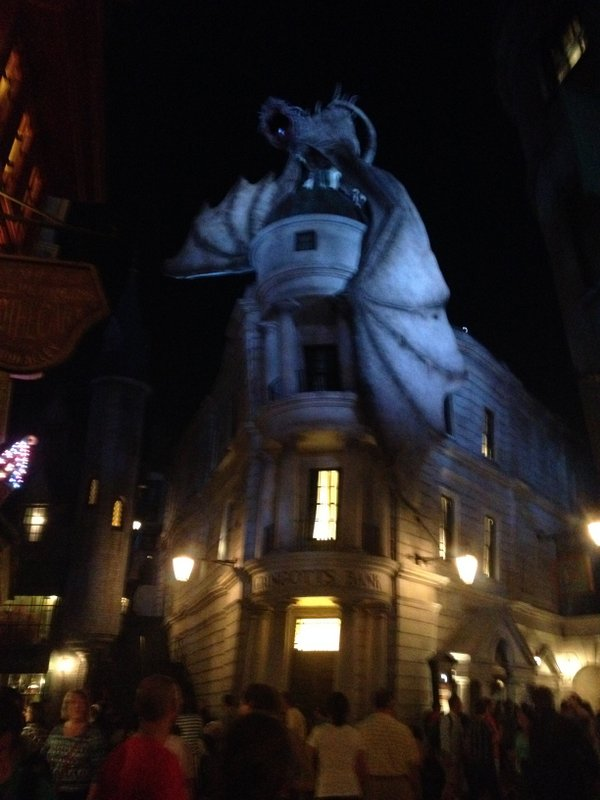Gringotts Bank in Universal Studios Florida
